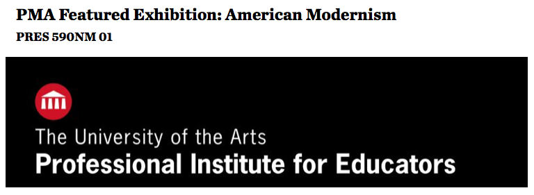 Arts Modernism Course